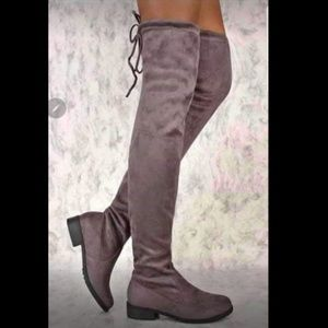 Sydney over the knee boots